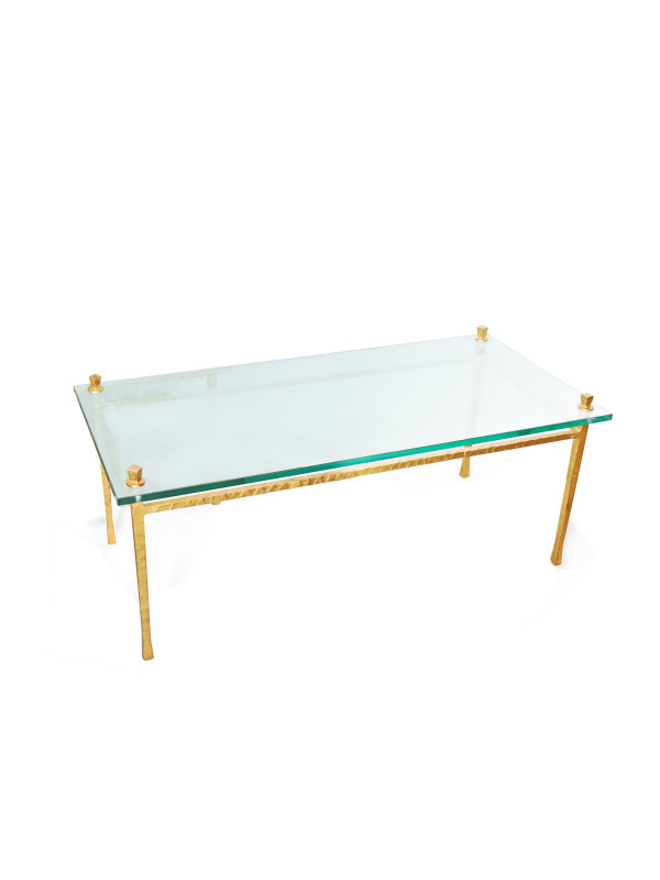 QUAD POD COCKTAIL TABLE-GOLD LEAF