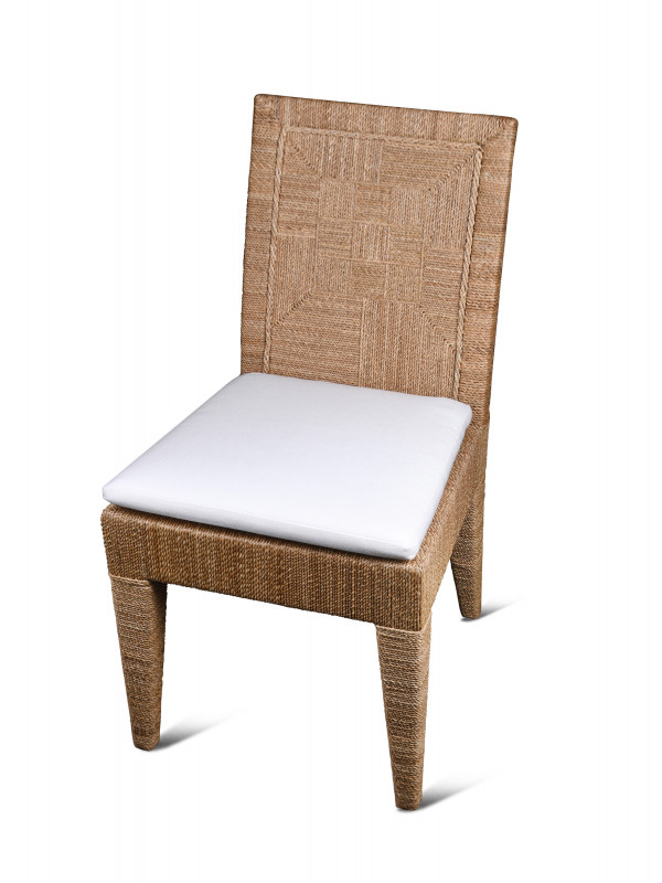 JM WOODSIDE DINING CHAIR NATURAL
