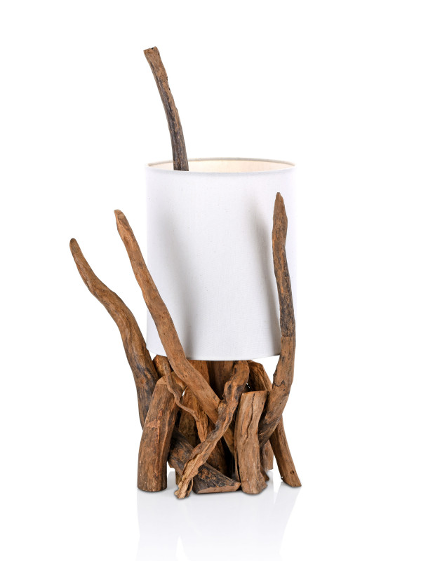 LAMP, DRIFT WOOD