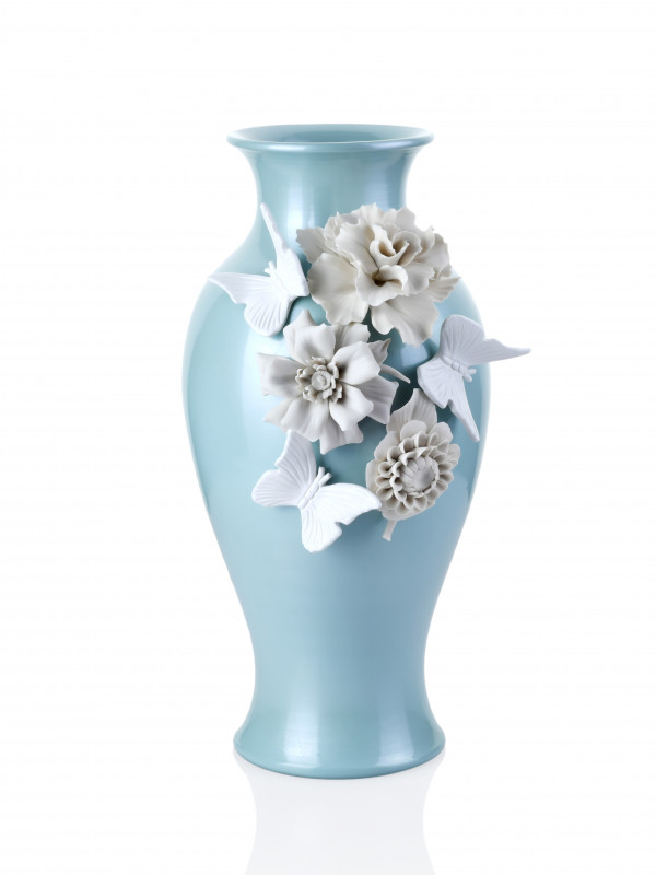 VASE SNELLO LIGHT BLUE
